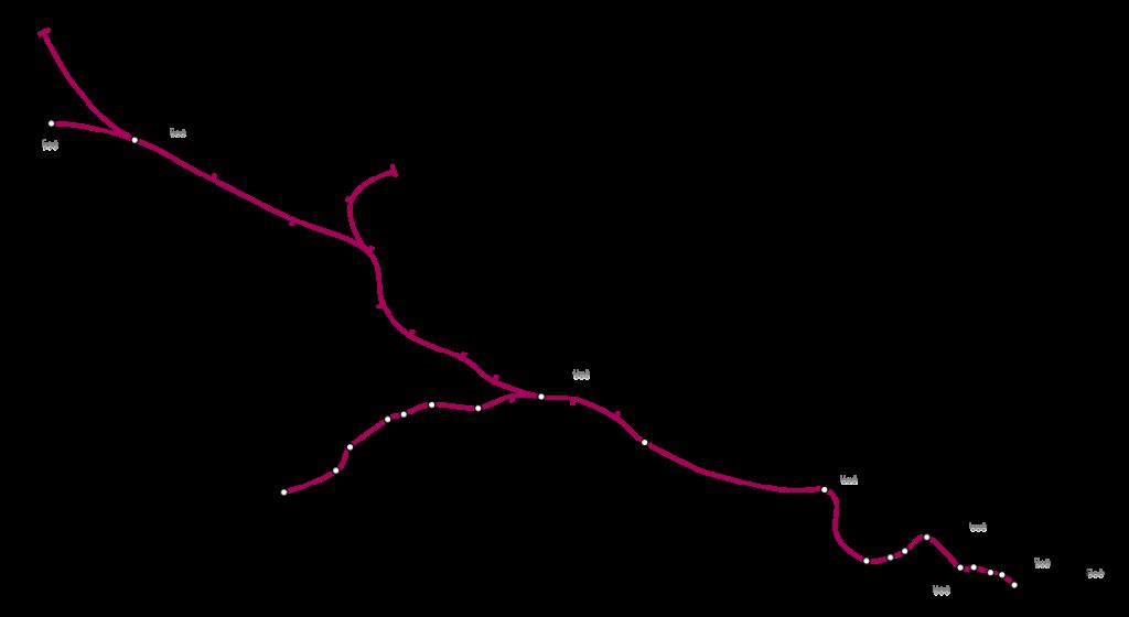 Plano Metro de Londres Línea Metropolitan