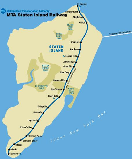 Plano Metro Staten Island