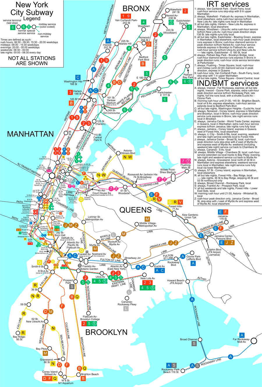 plan metro pdf new york